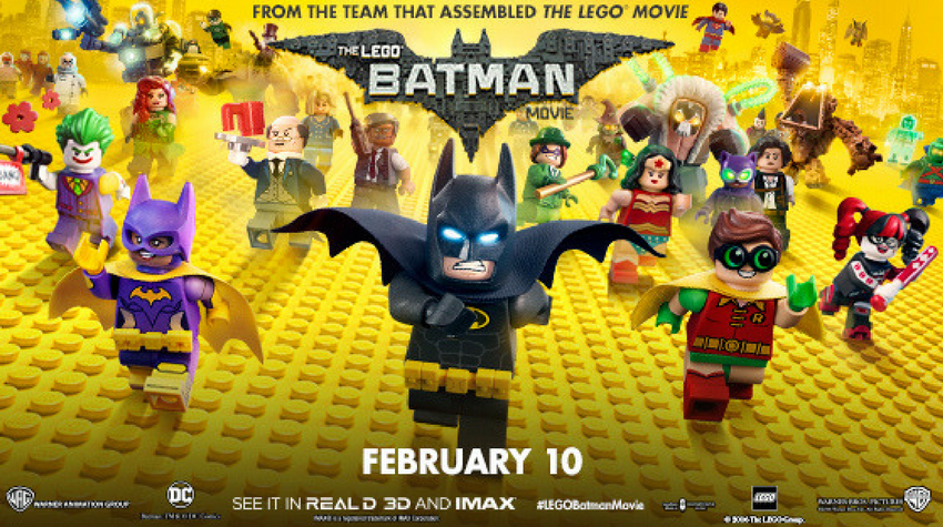 Cinema Club… The LEGO Batman Movie – Popcorn For One Film Reviews